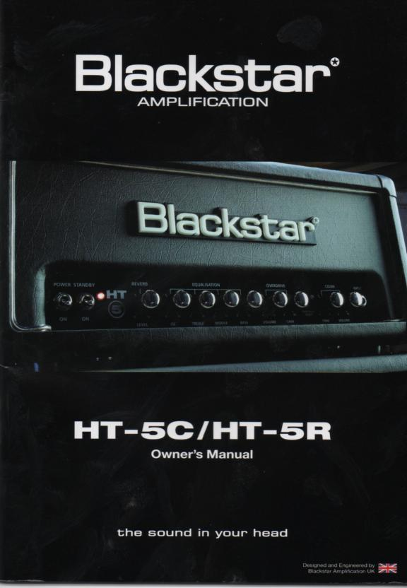 HT-5C HT-5R Amplifier English Owners Instruction Manual
