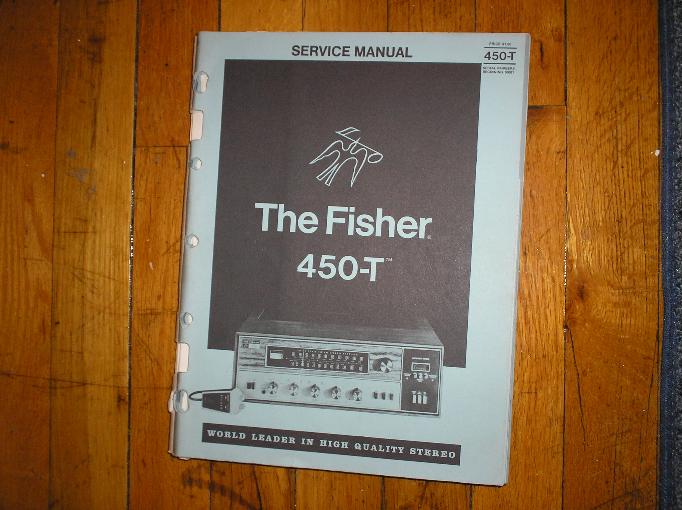 450-T Receiver Service Manual