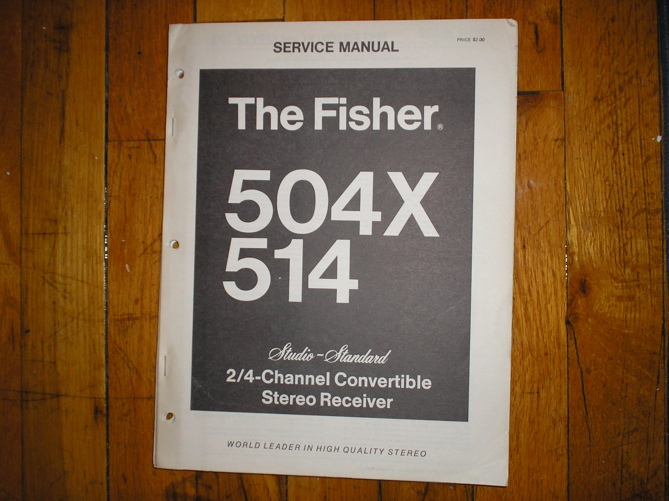 504X 514 Receiver Service Manual