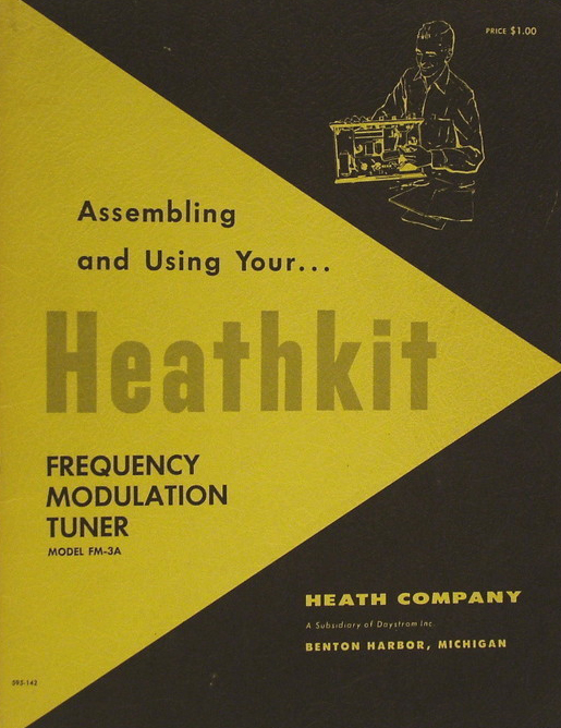 FM-3A Tuner Service Manual  Heathkit