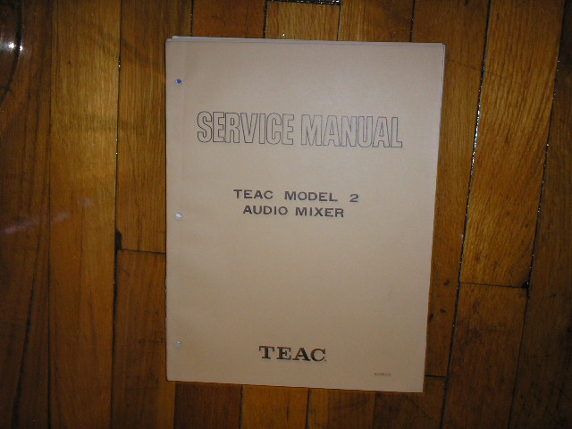 TEAC 124 A-108 Cassette Deck Service Manual
